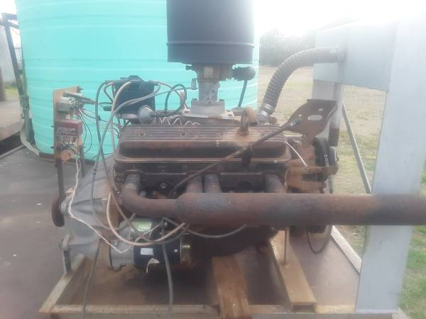 Photo 350 chevy motor - $1,000 (Hereford)