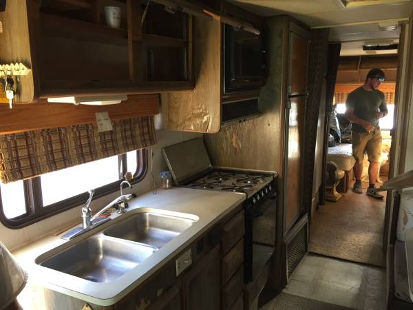 Photo 87 Chevy Bounder RV motor home - $5,000 (Hobbs)
