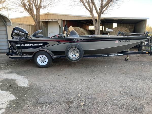 Photo Bass Tracker All-Fish - $8,500 (Childress)