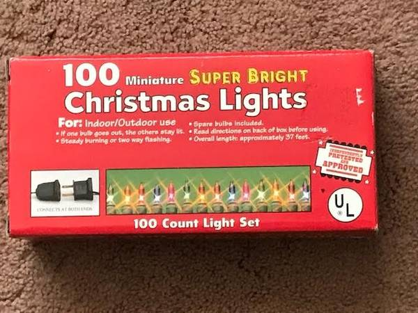 Photo Christmas Lights - $4 (SW Amarillo)