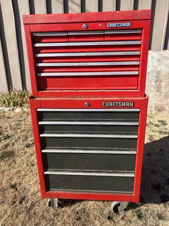 Photo Craftsman tool box - $220 (Amarillo)