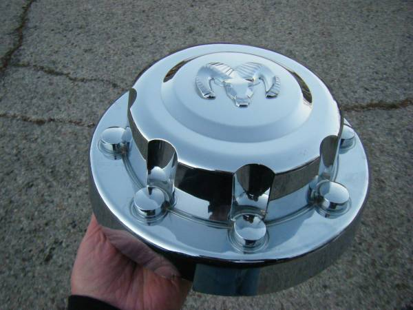 Photo Dodge 3500 Dually Rear Chrome Cap - $35 (Amarillo)