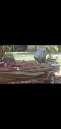 Photo King fisher bass boat 90 Nissan - $3,500 (Iowapark)