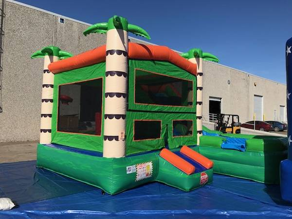 Photo LOOK HERE New inflatables for sale bounce house, combos, slides - $1 (DFW Metro)