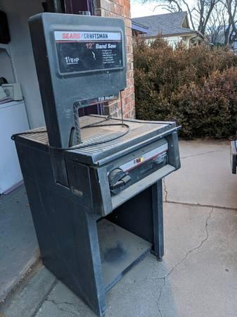 Photo Sears Craftsman 12quot Bandsaw - $250 (Amarillo)