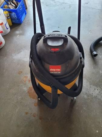 Photo Shopvac 18 gallon - $75 (Amarillo)