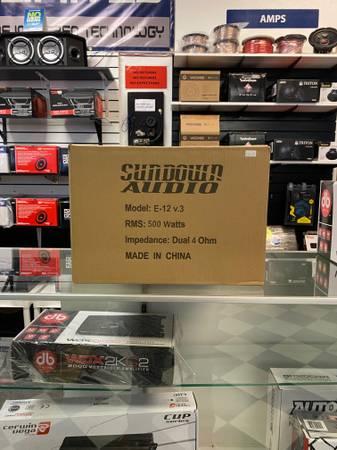 Sundown Audio E-12 Amp (Amarillo)