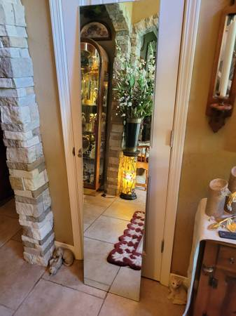 Photo Traditional Full Length Floor Mirror - $35 (Amarillo TX)