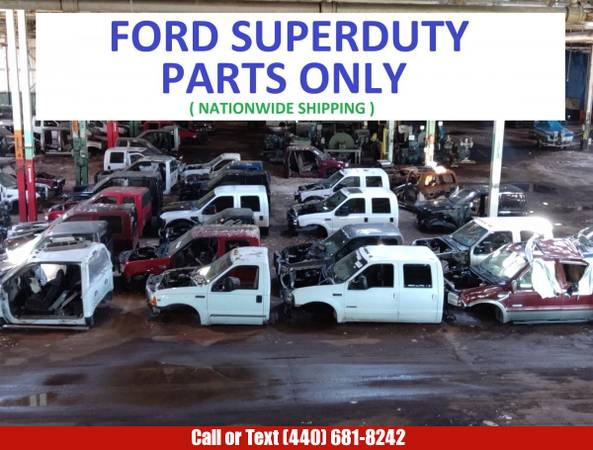 Photo USED FORD SUPER DUTY PARTS- ENGINE TRANSMISSION F-250 f-350 beds doors (FORD Truck Parts and Engines)