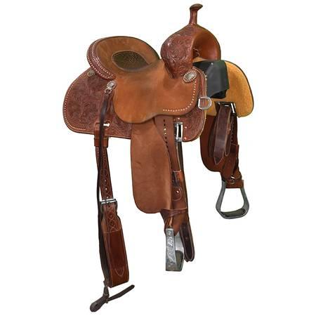 Photo Used 13.5quot Stingray Barrel Saddle by Martin Saddlery Code U135STINGRA - $2,999 (Amarillo)