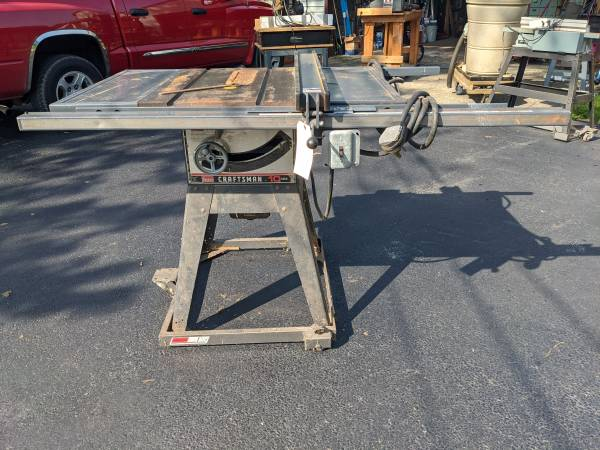 Photo 10quot Craftsman Table saw Wupgrades (Jefferson, Ohio)