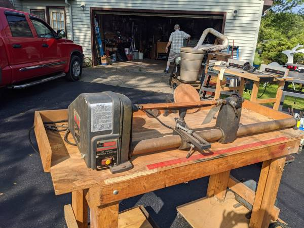 Photo 12quot Craftsman Wood Lathe (Jefferson, Ohio)
