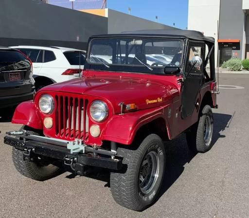 Photo 1969 Jeep CJ5 - $9,500 (Ashtabula)