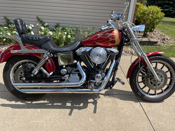 Photo 1998 Custom Harley Dyna Low Rider - $11,500 (Canton)