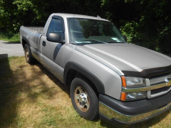 Photo 2004 Chevy Silverado 4X4 - $2790 (Perry OH)