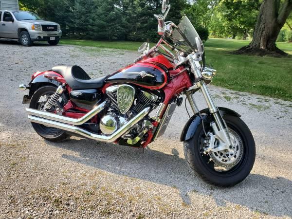 Photo 2006 Kawasaki Vulcan 1600 Mean Streak - $6,000 (Wooster, OH)