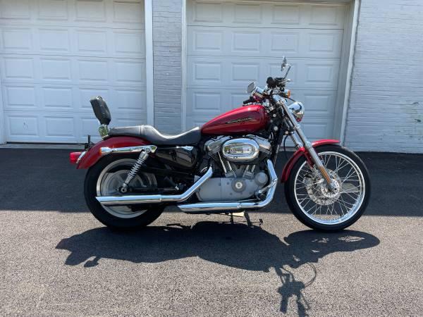 Photo 2007 Harley Davidson Sportster XL883C - $4,495 (Fairport Harbor)