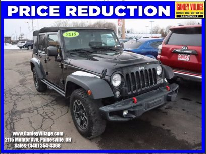 Photo Certified 2016 Jeep Wrangler 4WD Unlimited Rubicon for sale