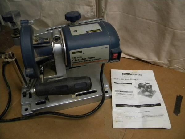 Photo Chicago Electric circular saw blade sharpener 96687 - $50 (AkronGreen)