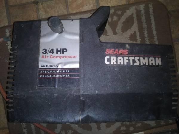 Photo Craftsman 34 hp portable air compressor - $30 (Akron)