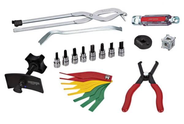 Photo Craftsman Brake Service Mechanic Specialty Tool Set - $70 (Akron)