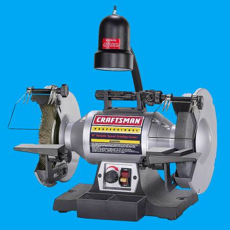 Photo Craftsman Pro Professional 8quot Variable Speed Bench Grinder Tool - $170 (Akron)