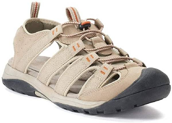 Photo Croft  Barrow Ortholite Fisherman Sandal Shoes Tan Size 10 - $20 (Akron)
