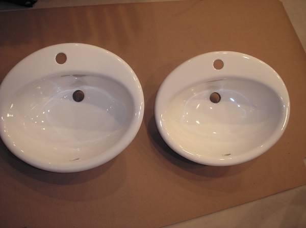 Photo KOHLER bathroom sinks - $60 (GRAFTON)