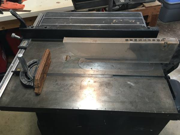 Photo Sears Craftsman Table Saw (Bench Saw) - $95 (Summit Twp.)