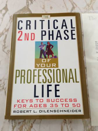Photo The Critical 2nd Phase of Your Professional Life - $15 (Avon Lake, OH)