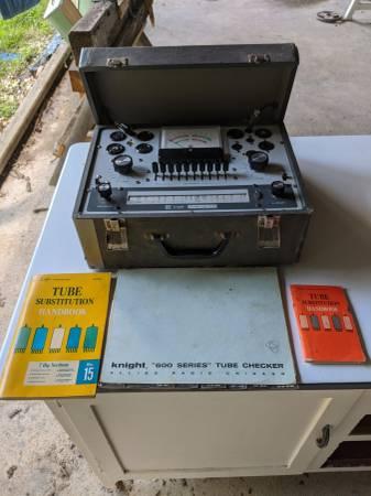 Photo Vintage Electronic Test Equipment - $300 (Southington)