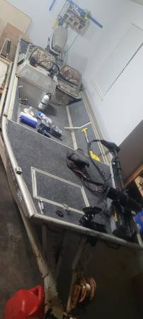 Photo 1539 Fisher Marine Aluminum Bass Boat, Loaded (Titles) - $5,000 (Athens)
