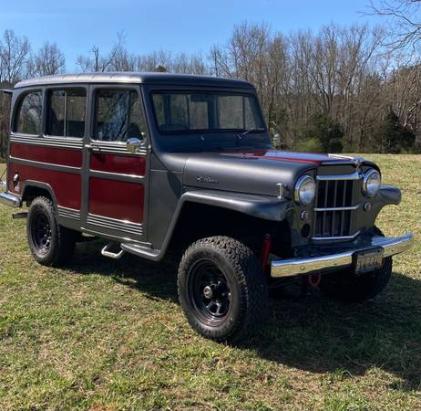 Photo 1963 Willys Jeep Overland Wagon - $19,500 (Crawford)