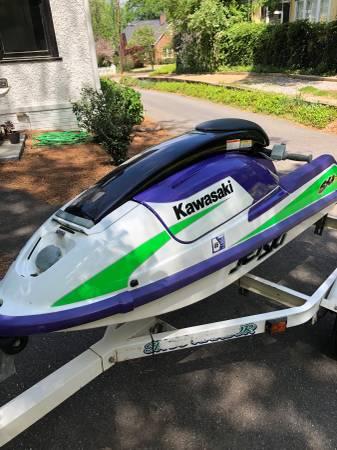 Photo 1998 Kawasaki sxi pro stand up jet ski - $2800 (Athens, GA)
