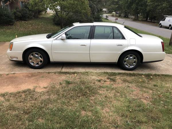 Photo 2002 Cadillac Deville ONLY 71 K Sunroof New Battery  Brakes, Exc Cond - $3950 (Watkinsville, GA)