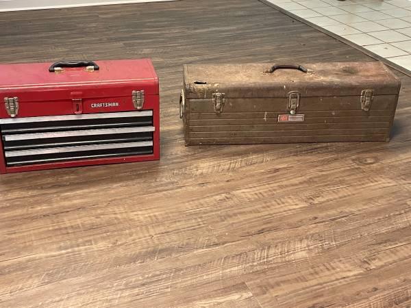 Photo 2 craftsman tool boxes - $60 (East Athenswatkinsville)