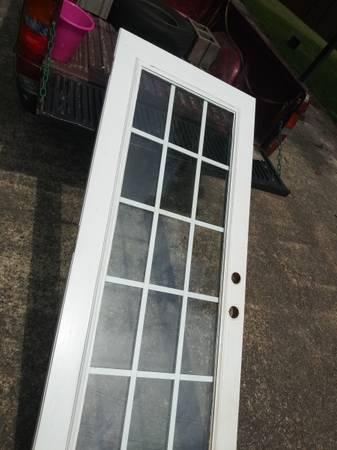 Photo 32quot exterior door with dbl pane glass - $135 (Atgens)