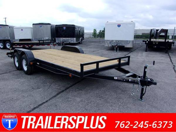 Photo 7x18 Heavy Duty Equipment Trailer For Sale - $3,899 (Lavonia)
