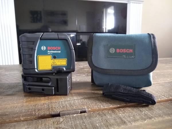 Photo Bosch 3 Point Laser Alignment - $45 (Danielsville)