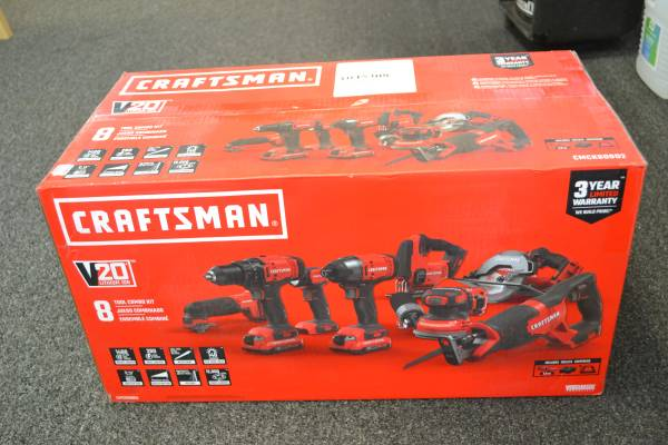 Photo Craftsman 8 Piece Combo Kit - NEW - $319 (Athens, Ga.)