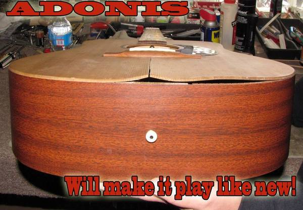 Photo Guitar  Bass Setups  Repairs by Master Luthier and Custom Builder - $45 (Loganville)