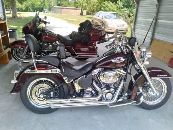 Photo Like New 2005 Harley Davidson Soft Tail Deluxe - $8,500 (Elberton GA)