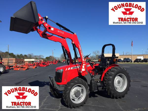 Photo New Massey Ferguson 2606H Utility Tractor with Loader - $1 (Madison)