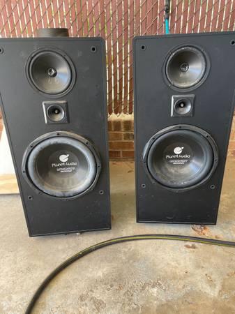 Photo Planet audio 400 watt speakers - $100 (Athens)