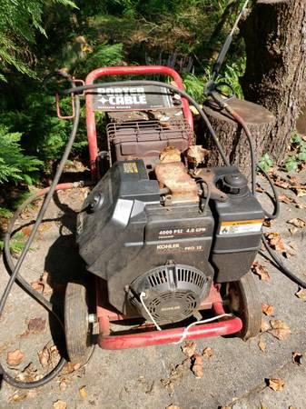 Porter cable pressure washer 4000 PSI kolher - $200 (Watkinsville)