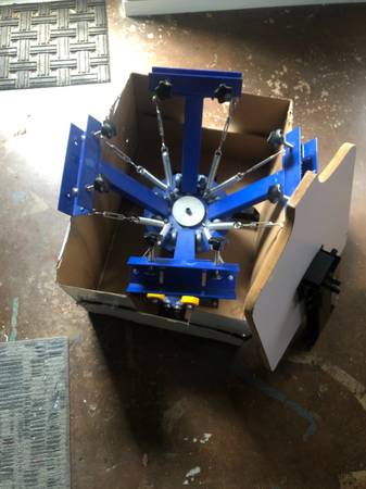 Photo Screen printing press machine - $75 (Downtown Athens)