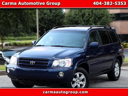 Photo Used 2002 Toyota Highlander Limited for sale