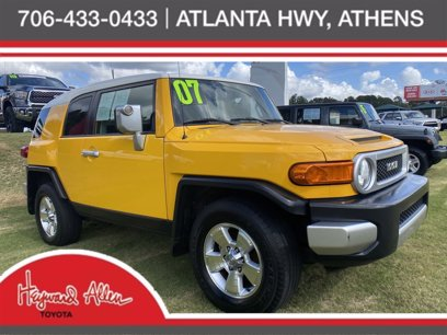 Photo Used 2007 Toyota FJ Cruiser 2WD for sale