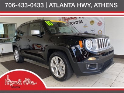 Photo Used 2016 Jeep Renegade FWD Limited for sale