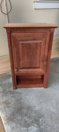 Photo Wall Mounted Bathroom Cabinet - $50 (Dacula)